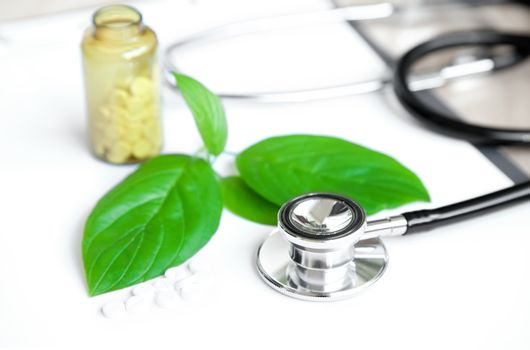 stethoscope. medical subjects