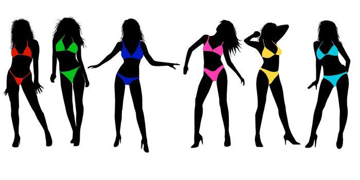 beauty bikini girls