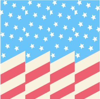 american flag background