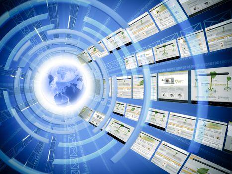 Worldwide data transfer