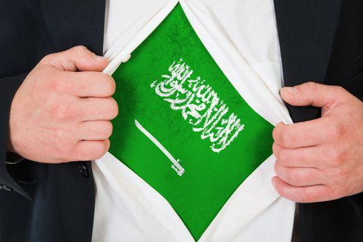 The Saudi Arabia flag