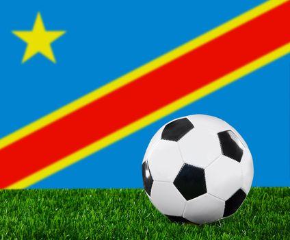 The Democratic Republic of the Congo flag