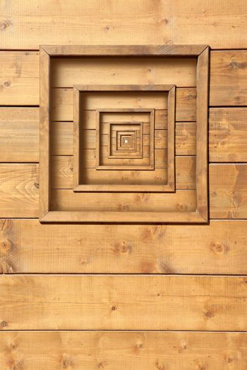 psychedelic wooden window zoom concentric