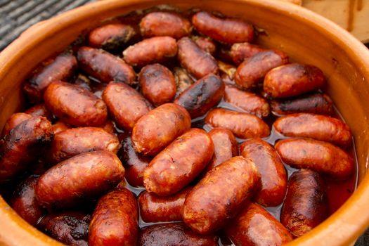 chorizo red sausage Spanish unhealthy food