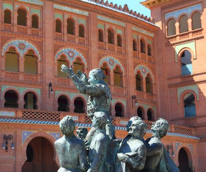 Madrid bullring Las Ventas Plaza Monumental