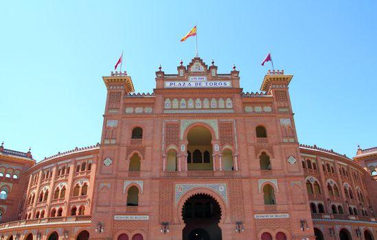 Madrid bullring Las Ventas Plaza toros