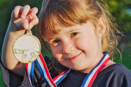 Little gold medalist