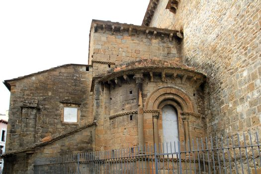 Jaca romanesque cathedral church Pyrenees spain
