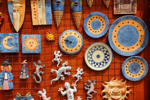 Santa Cruz Seros handcraft ceramics souvenir