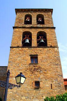 Santa Cilia Jaca romanesque church belfry tower