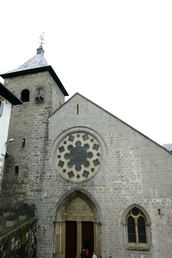 Church of Saint Mary in Roncesvalles Pyrenees