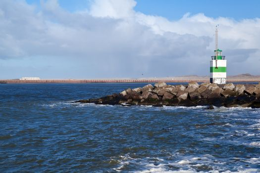 lighthouse in North sea