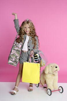 Little shopper humor shopaholic girl