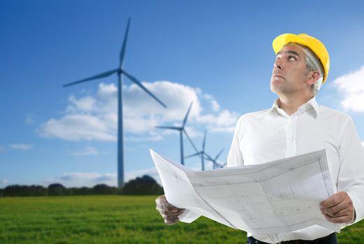 expertise architect senior engineer plan windmill