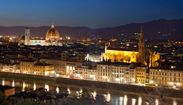 florence cityscape Italy