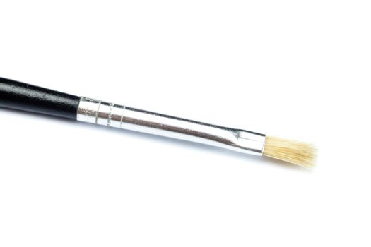 thin brush isolated on white