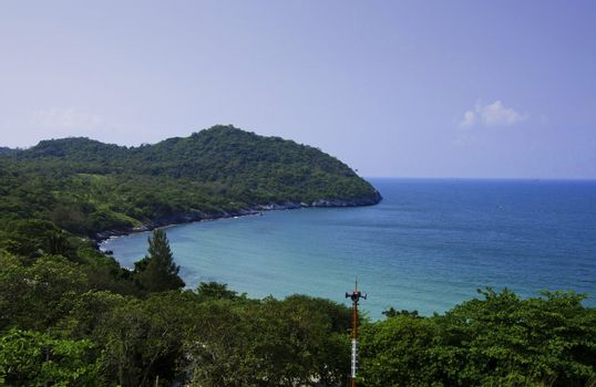 Ko Si Chang island in Thailand