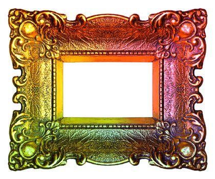 Multicolor Picture Frame: Small and Retro