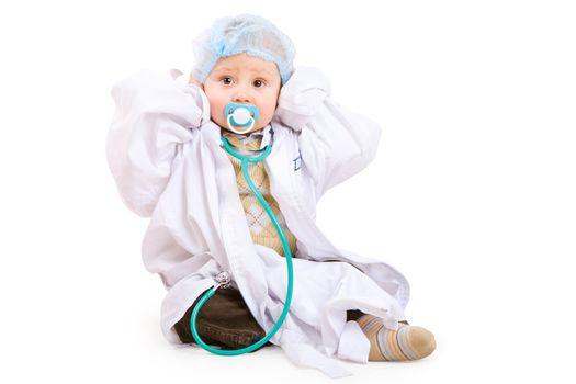 little doctor on the floor
