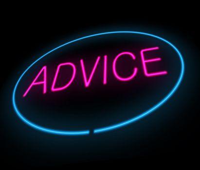 Advice concept.