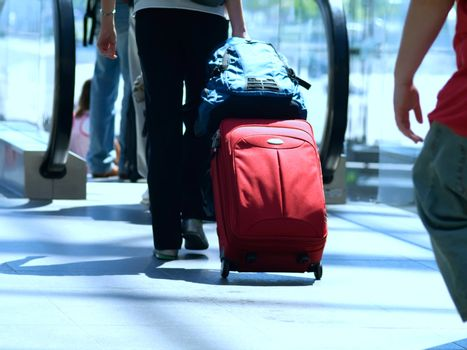 Traveller with a Suitcase