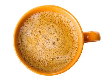 coffee with foam