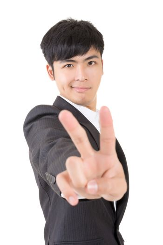 peace gesture