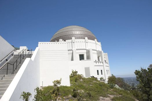 Griffith Observatory Planetarium in Los Angeles, CA