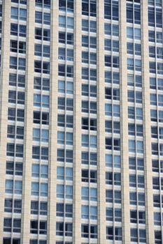 Windows background of modern building exterior