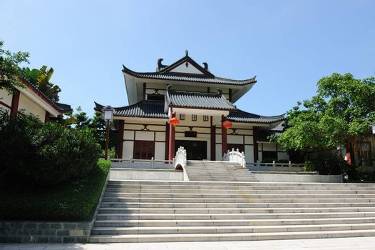 China traditional style building exterior