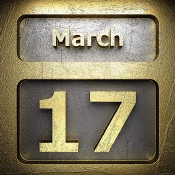 march 17 golden sign