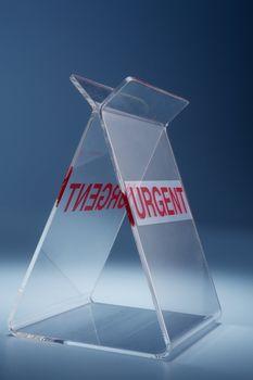 urgent sign