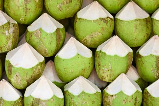 Coconuts to sell background