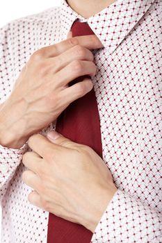 Knot necktie