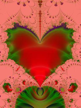 punk Valentines heart