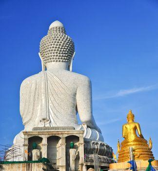Posterior view of the Big Budha
