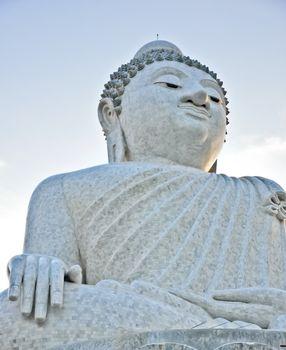 The beautiful big budha, Phuket Thailand