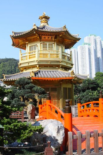 The Pavilion of Absolute Perfection in the Nan Lian Garden