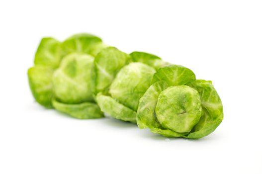 Arrangement of brussels sprouts