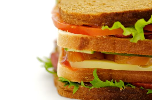 Classical BLT Club Sandwich
