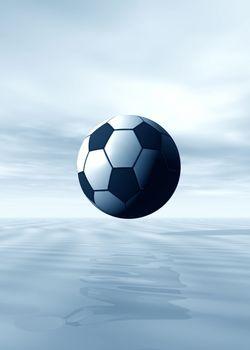 Football in skies