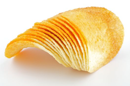 Arrangement of Potato Chips