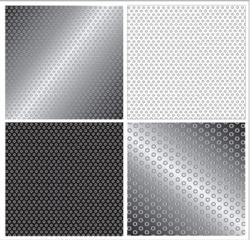 black, gray and white squares vector illustration