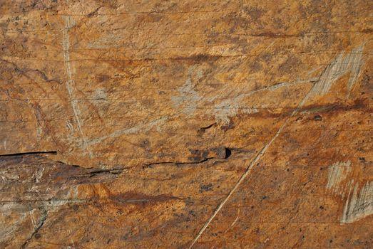 Yellow rough stone