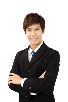 young asian businessman