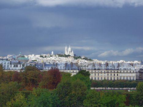View of Montmartre. Paris. France