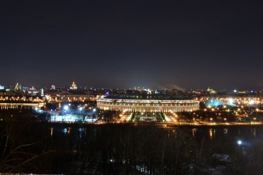 The Moscow  Olimpic complex