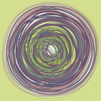 fine colorful background with circles