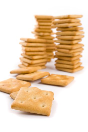 stacks of cookie