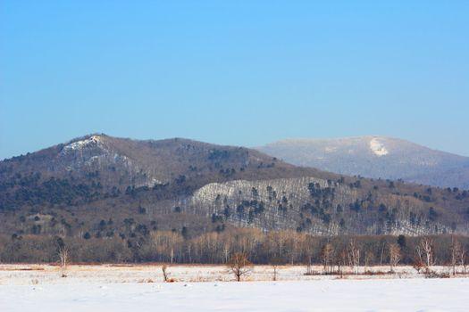 beautiful altai mountain valley
